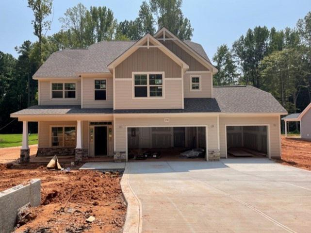 Home under construction 8/3/21. Wake Forest, NC New Home Home under construction 8/3/21
