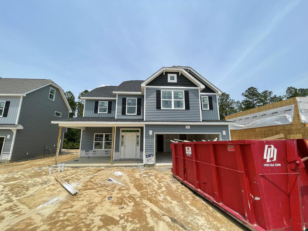 Home on 7/10/21. 2,355sf New Home in Spring Lake, NC Home on 7/10/21