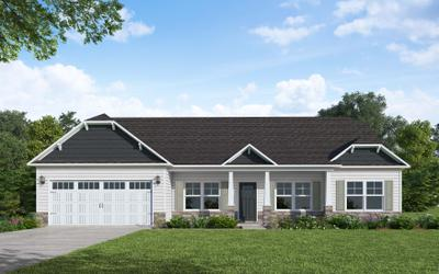 125 Howards Crossing Drive, Wendell, NC 27591 New Home for Sale