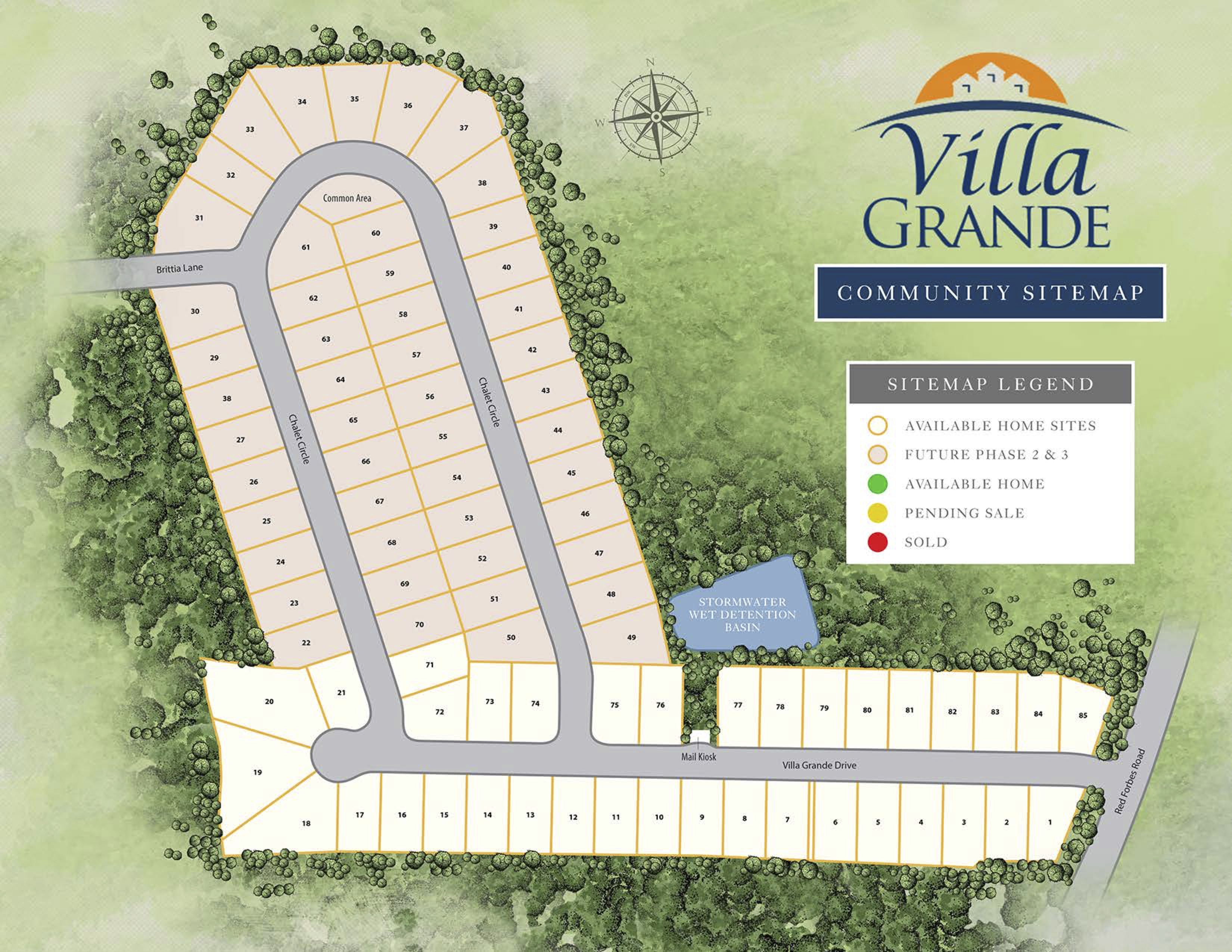 Winterville, NC Villa Grande New Homes from Stylecraft Builders