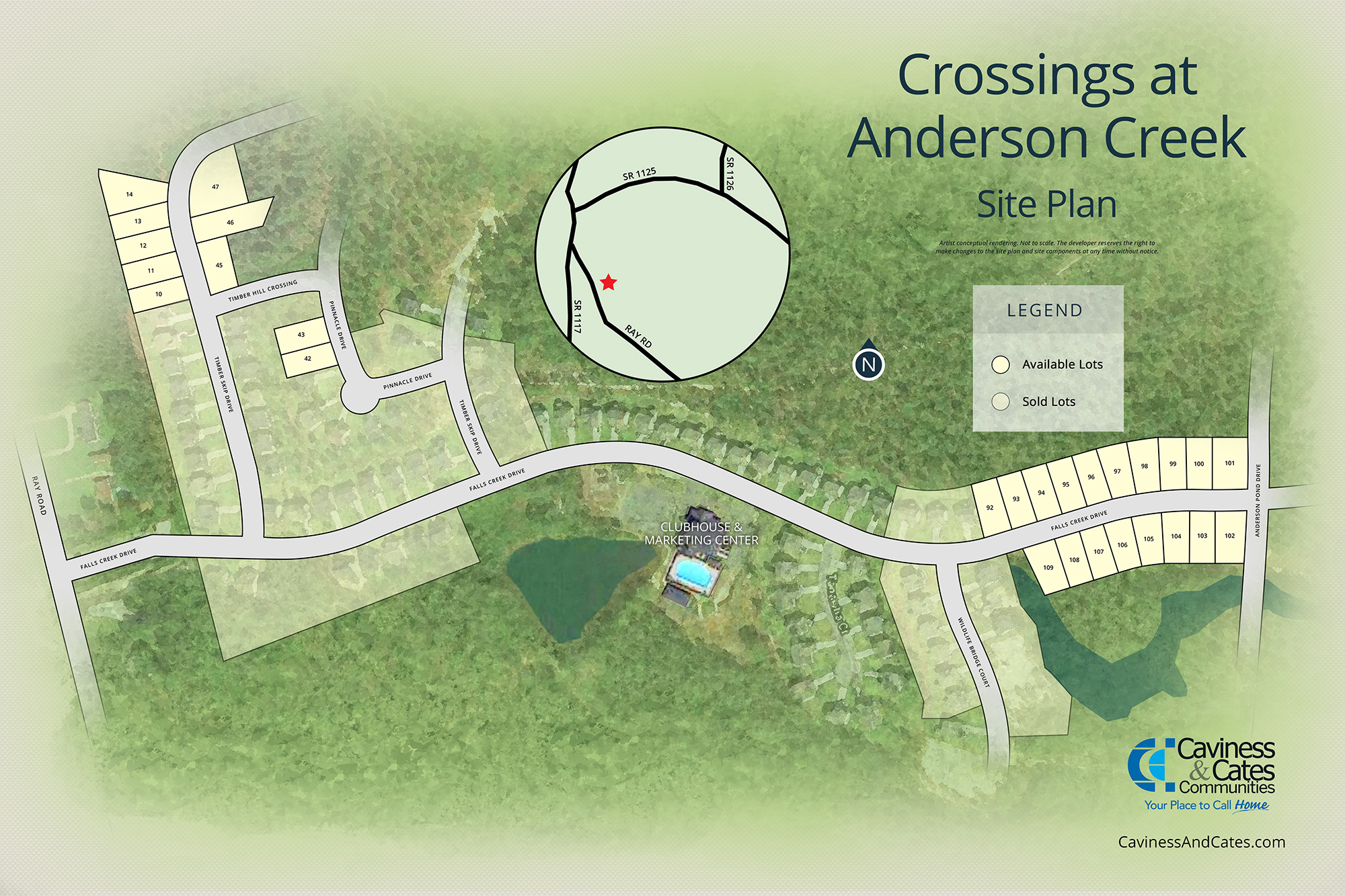 Spring Lake, NC Anderson Creek Crossing New Homes from Stylecraft Builders
