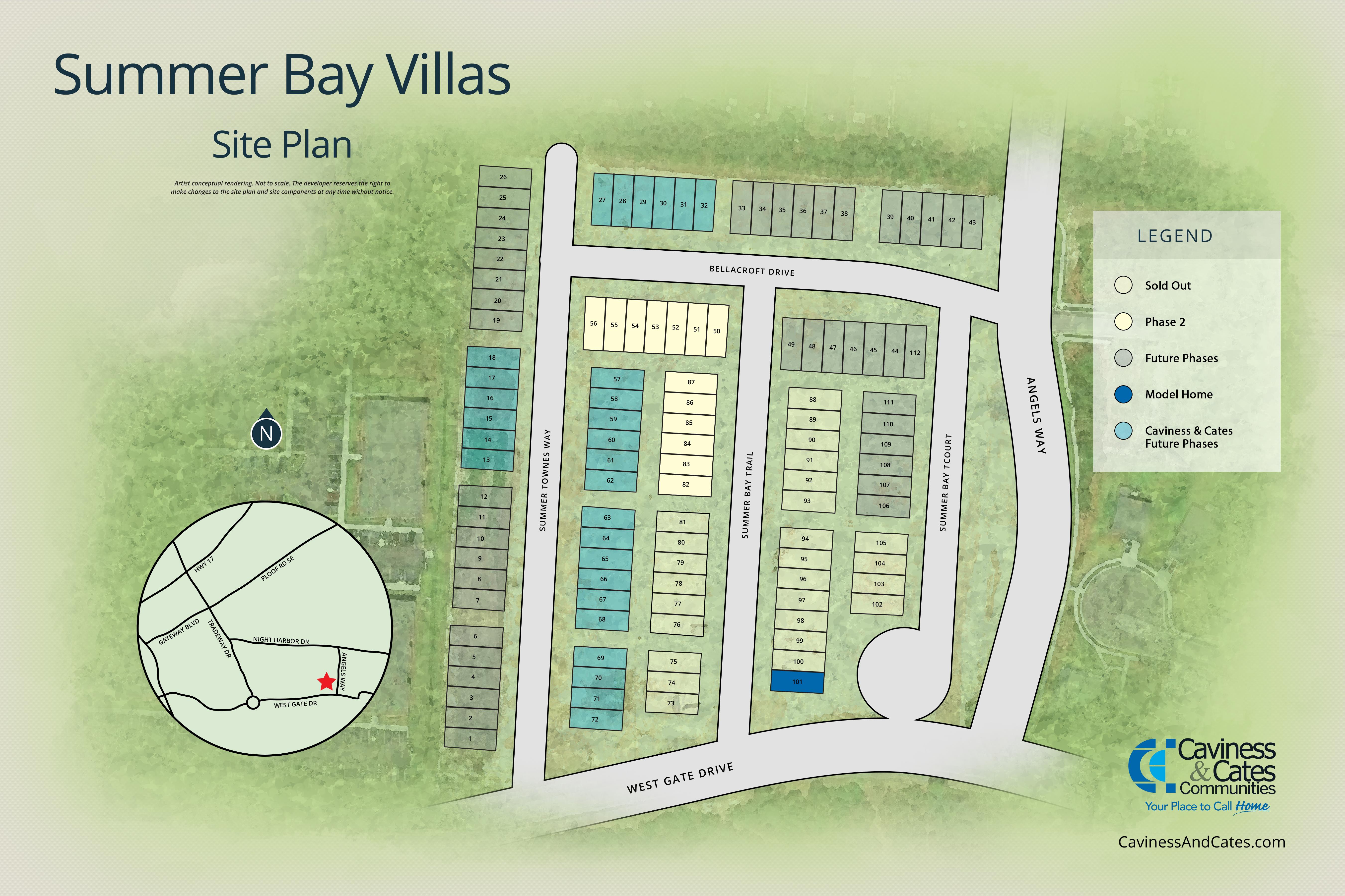 Leland, NC Summer Bay Villas New Homes from Stylecraft Builders