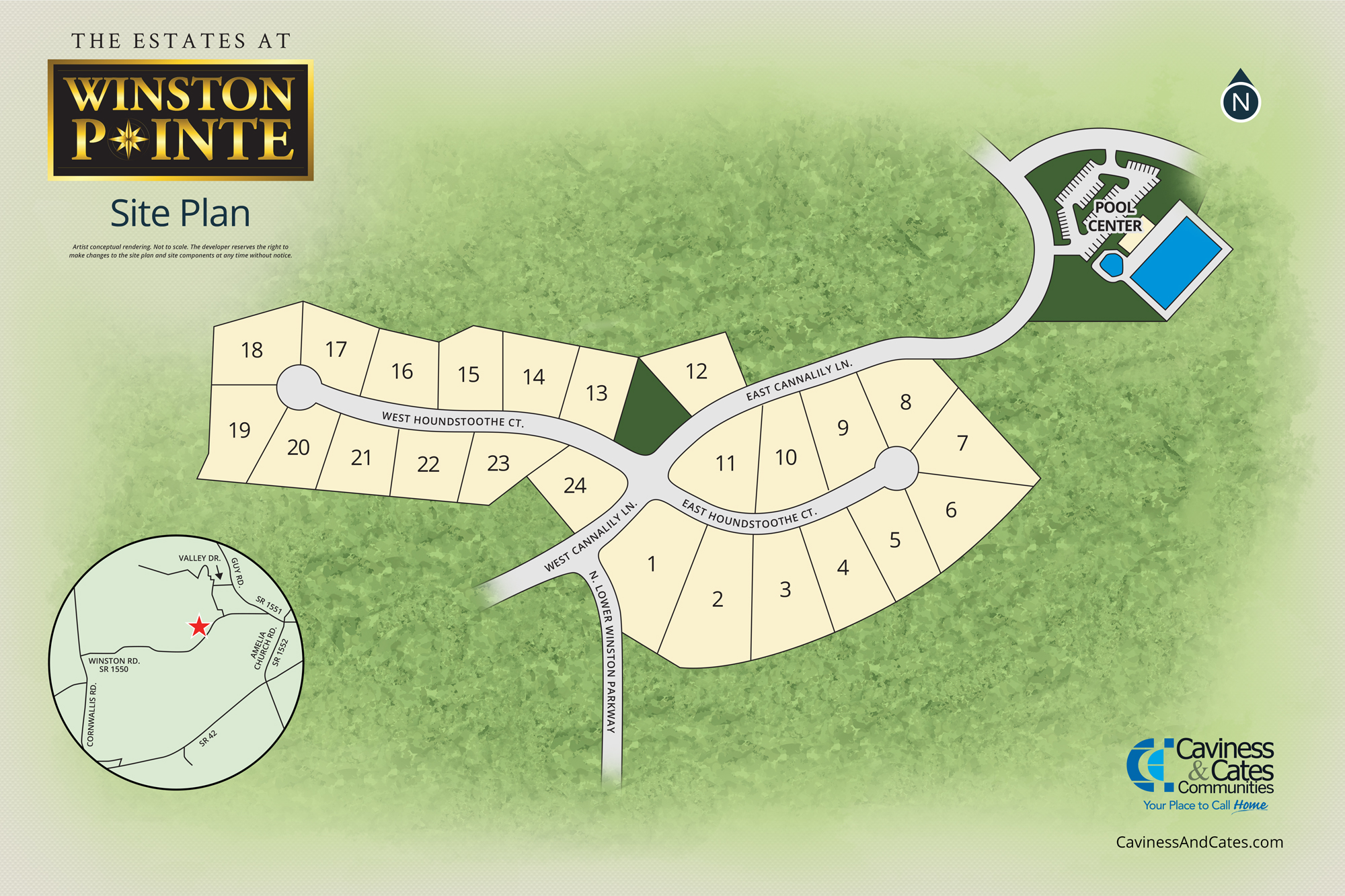 Clayton, NC The Estates at Winston Pointe New Homes from Stylecraft Builders