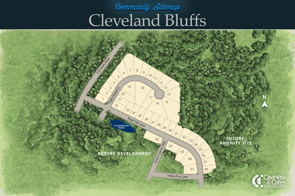 Clayton, NC Cleveland Bluffs New Homes from Stylecraft Builders
