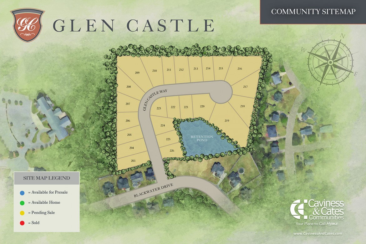 Winterville, NC Glen Castle at Irish Creek New Homes from Stylecraft Builders