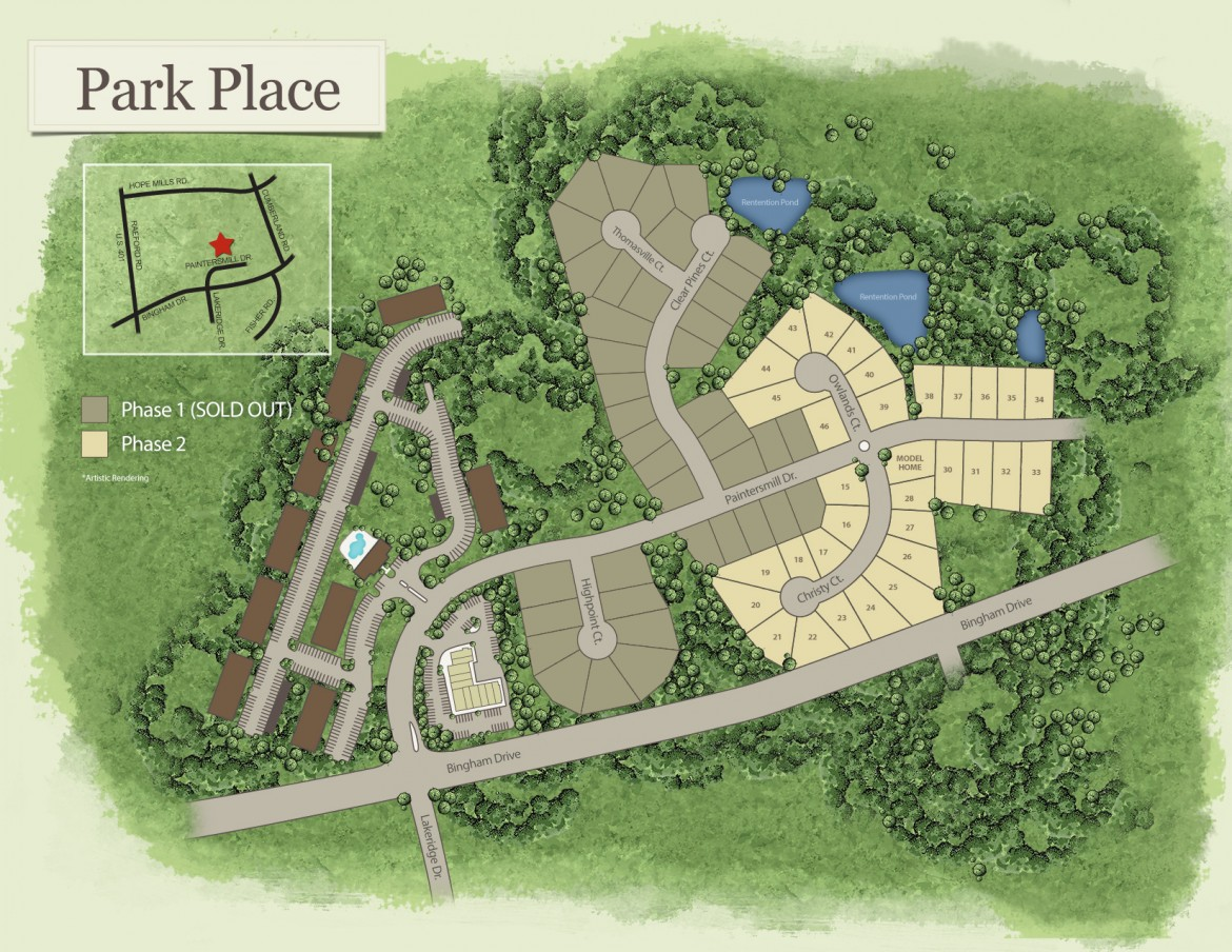 Fayetteville, NC Park Place New Homes from Stylecraft Builders