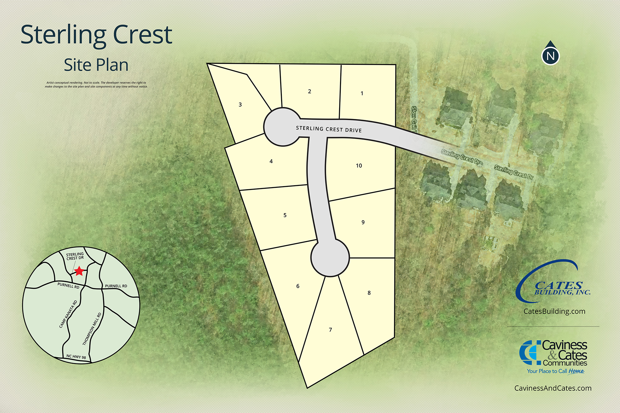 Wake Forest, NC Sterling Crest New Homes from Stylecraft Builders