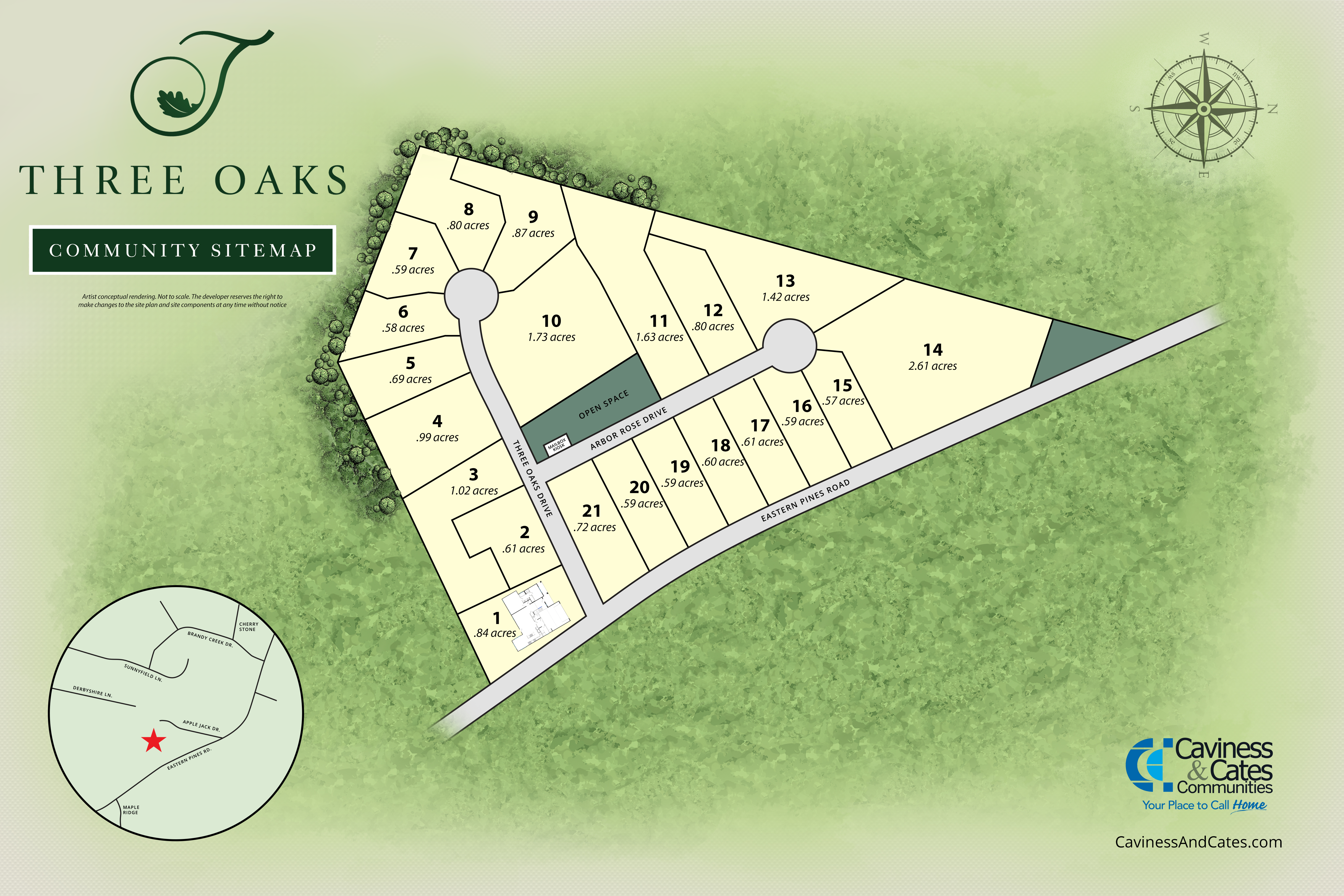 Greenville, NC Three Oaks New Homes from Stylecraft Builders