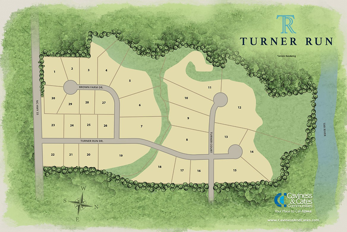 Greenville, NC Turner Run New Homes from Stylecraft Builders