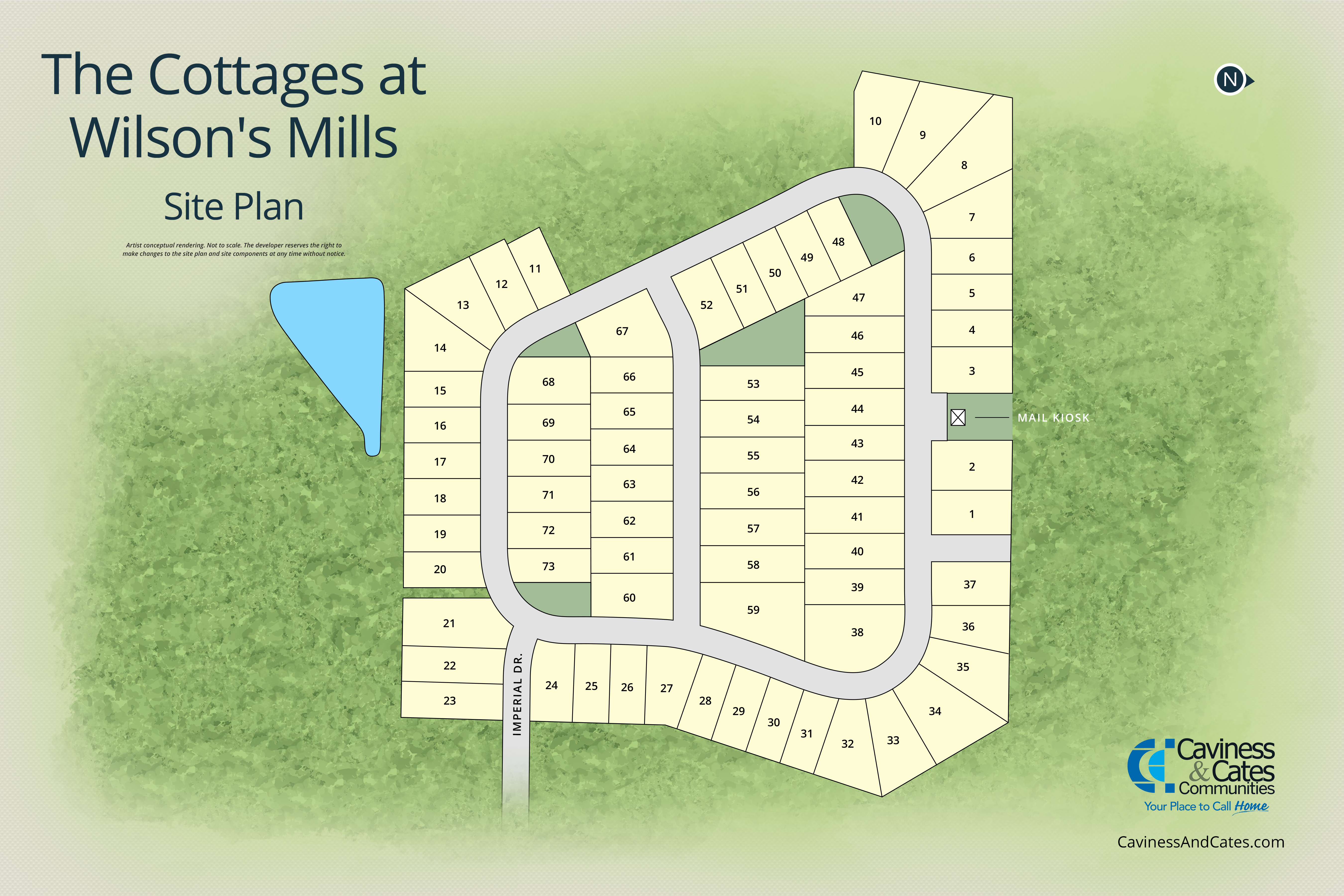 Clayton, NC The Cottages at Wilson's Mills New Homes from Stylecraft Builders