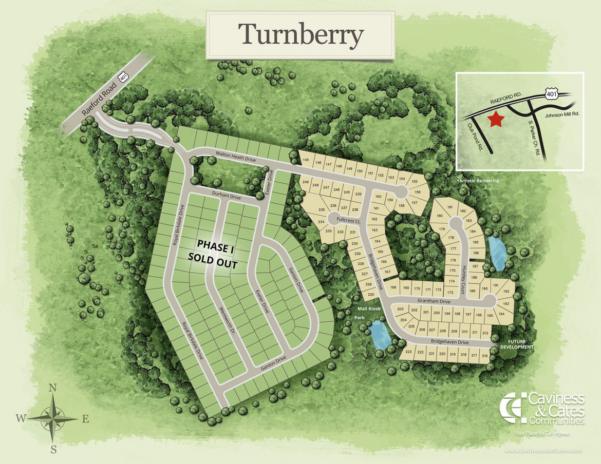Raeford, NC Turnberry New Homes from Stylecraft Builders