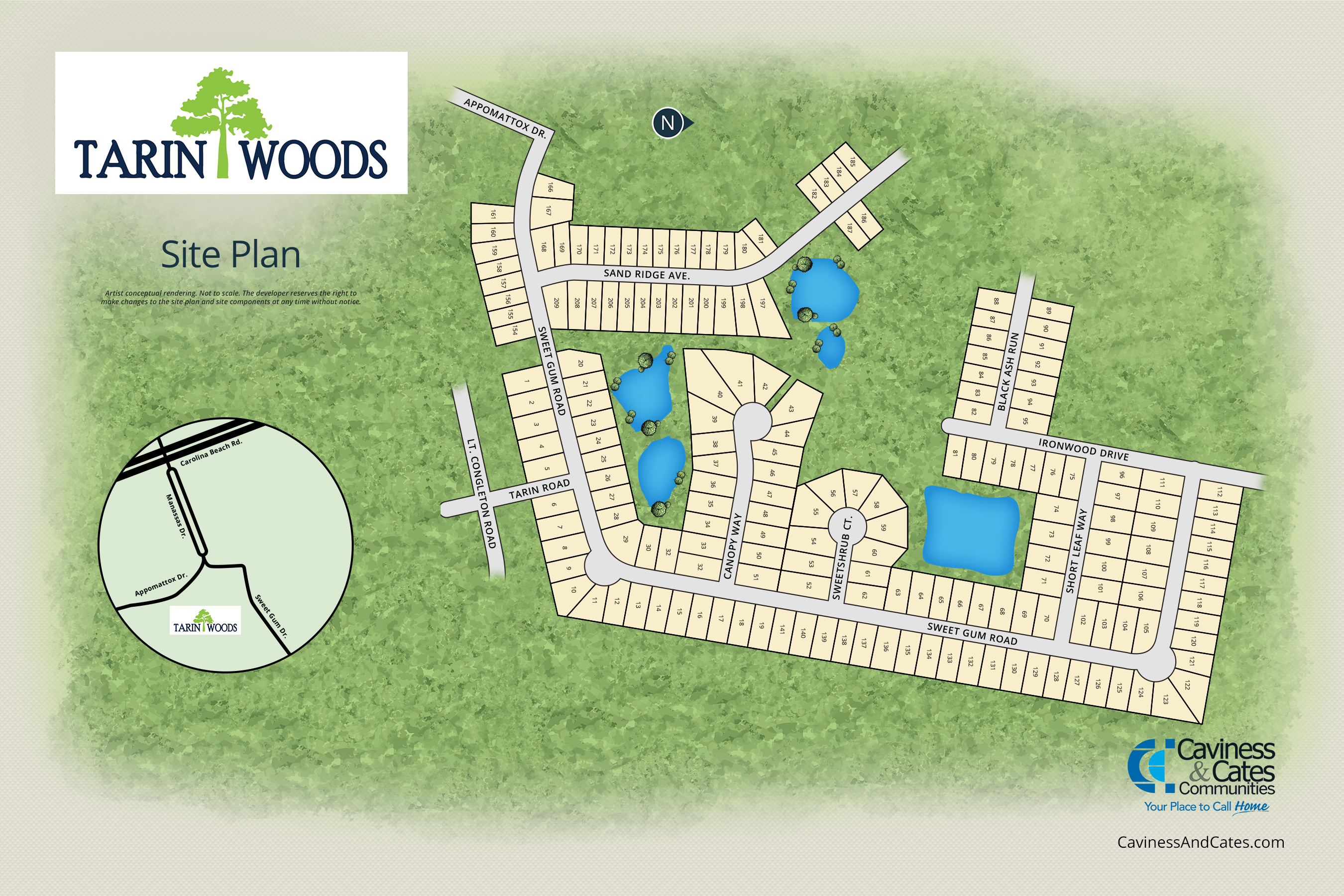 Wilmington, NC Tarin Woods New Homes from Stylecraft Builders