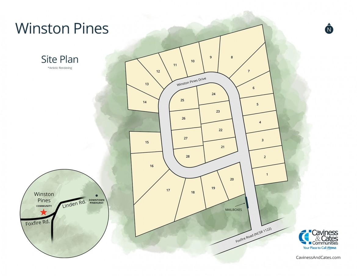 Pinehurst, NC Winston Pines New Homes from Stylecraft Builders